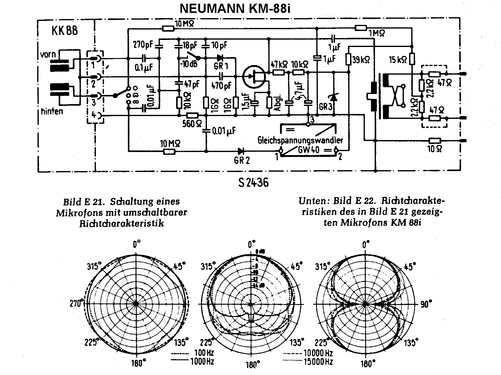 Omnidirectional Microphone Diagram