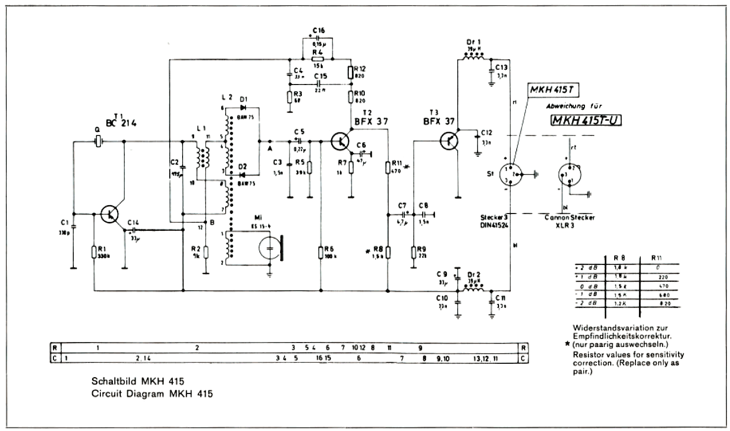 Sennheiser Electronics Corporation Mkh 415 T Circuit Diagram Xml