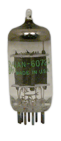 JAN-spec 6072a vacuum tube