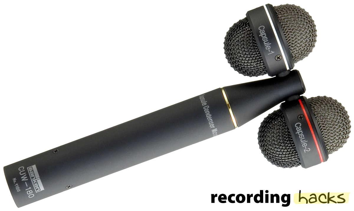 Sanken Microphone Company, Ltd  CUW-180 | RecordingHacks com