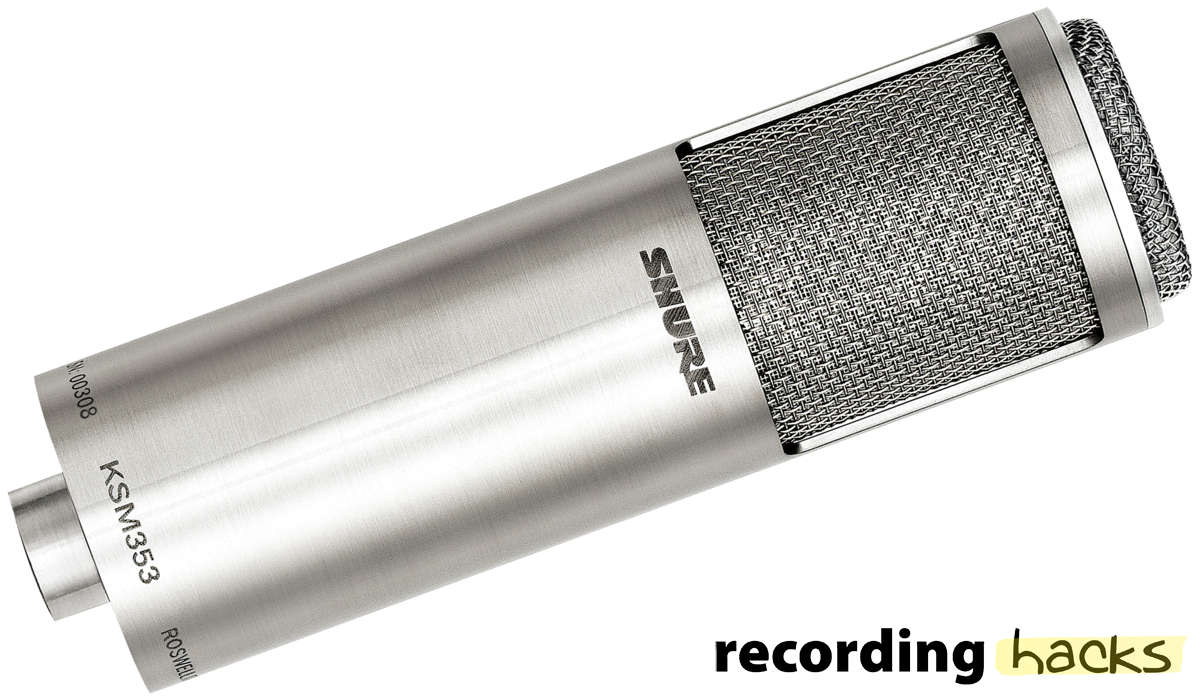 Shure KSM353/ED | RecordingHacks.com