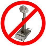 no stupid microphones
