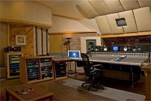 Stepbridge Studios Control Room, Santa Fe, NM