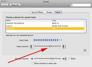 OS X Sound pref pane for Blue Icicle