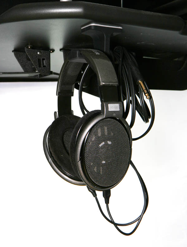 Anchor headphone hangar